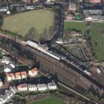 New Northbound platform at Dunbar Station